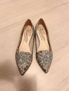 Made in Japan flat shoes ,超舒適有軟鞋墊99.9%new