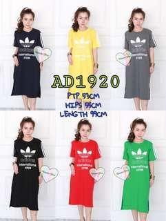 🚚 PO for ADIDAS & CDG TSHIRT DRESS