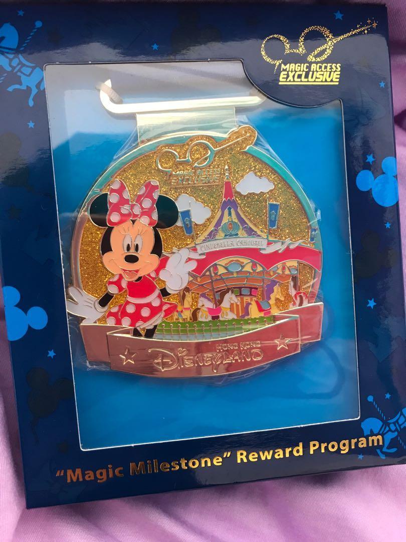 迪士尼會員獎賞獎牌