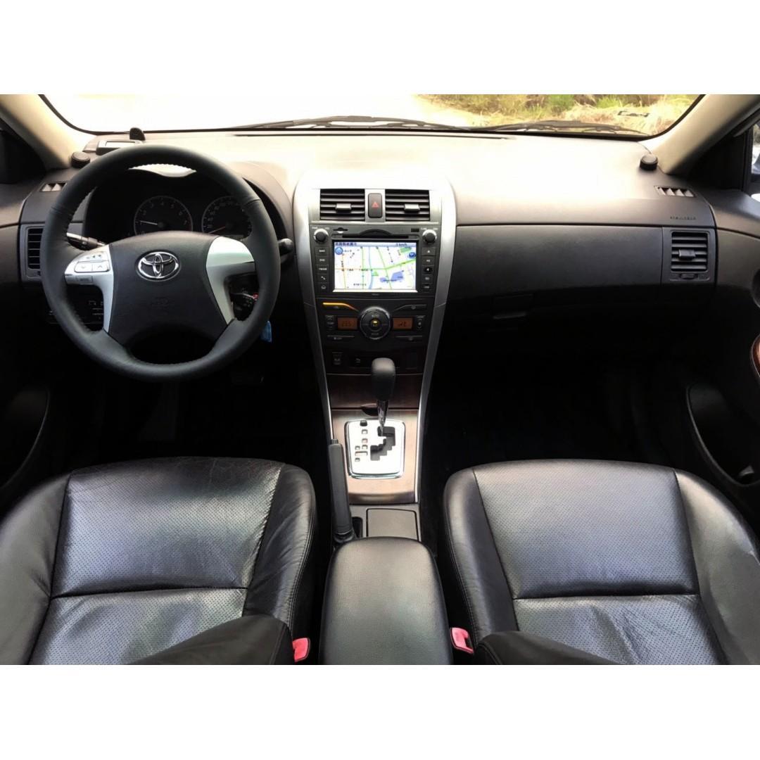 原鈑件 女用車 SAVE認證 豐田 Altis 白色 1.8 白 E版 觸控螢幕 定速 倒車顯影