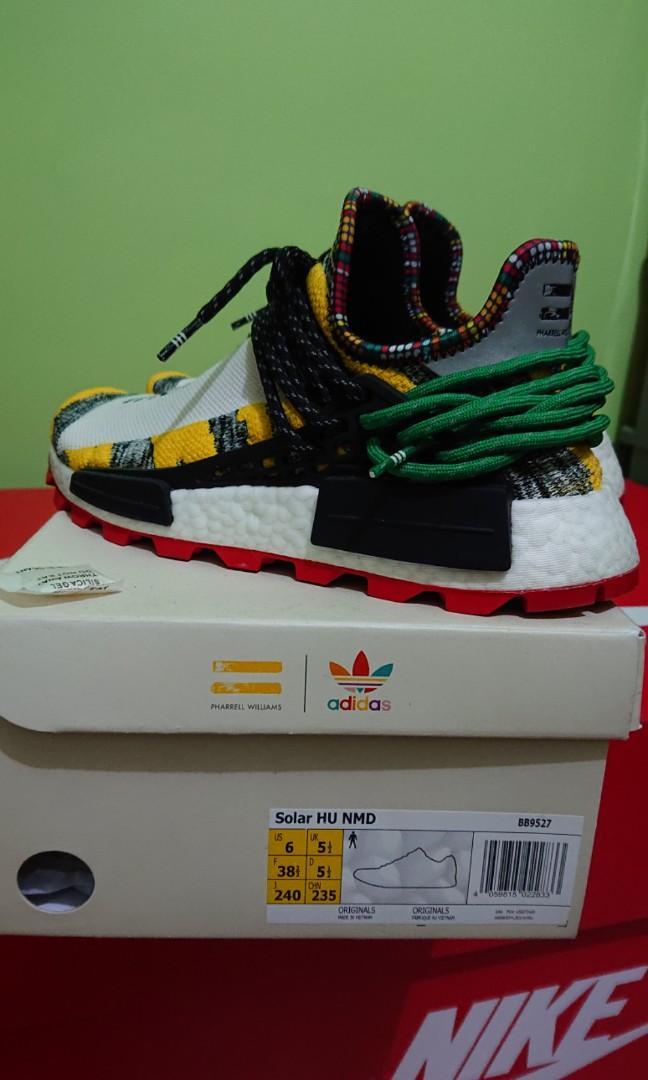 uk availability 05cf1 9ef00 Adidas Human Race Solar Hu NMD, Women's Fashion, Shoes ...