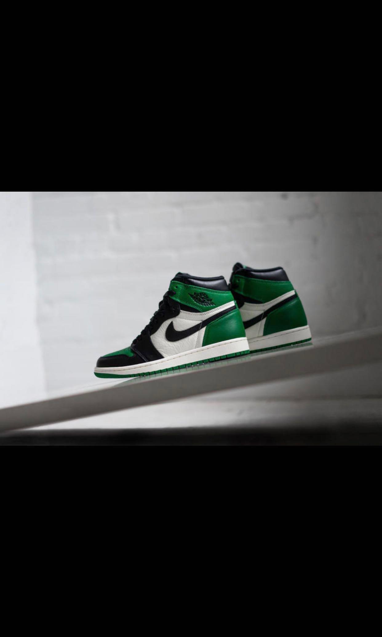 8be2ffe82a94 Air Jordan 1 OG Pine Green