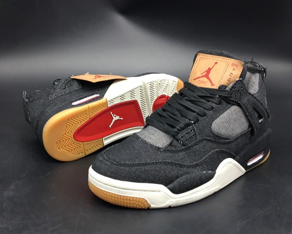 buy online 8ec53 602cb Air Jordan 4 Retro x Levis
