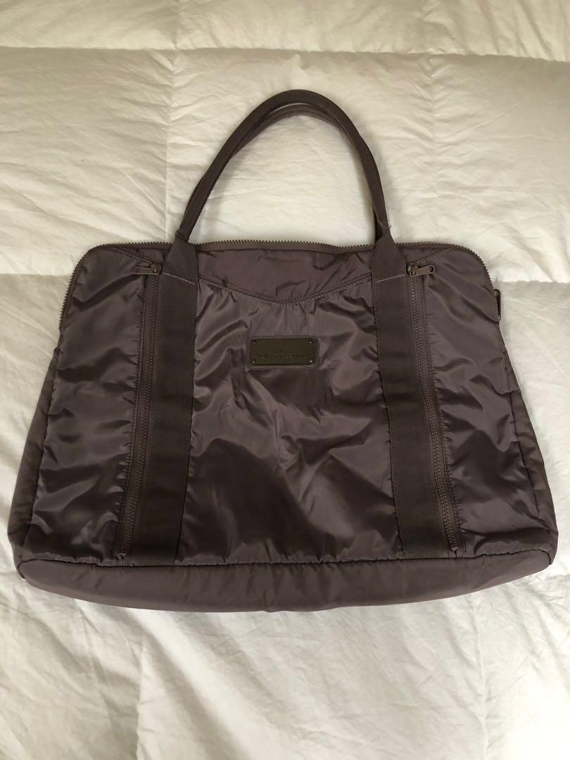 Authentic Adidas by Stella McCartney yoga tote bag in lovely taupe