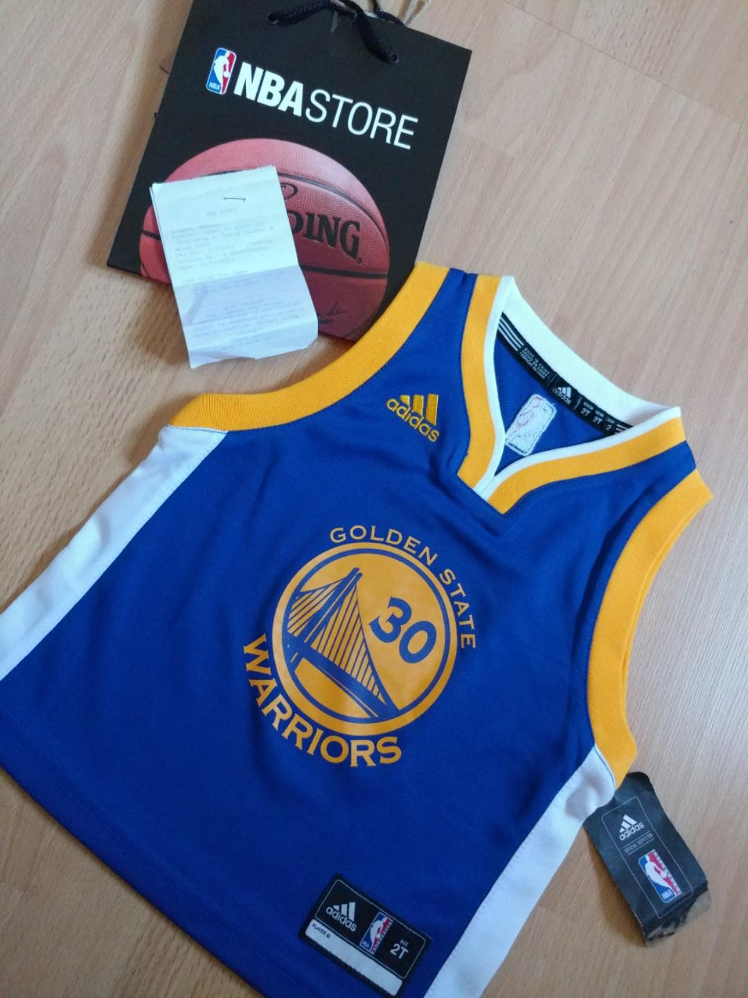 sports shoes 2a498 2c8e6 Authentic GSW Stephen Curry NBA Jersey, Babies & Kids, Boys ...