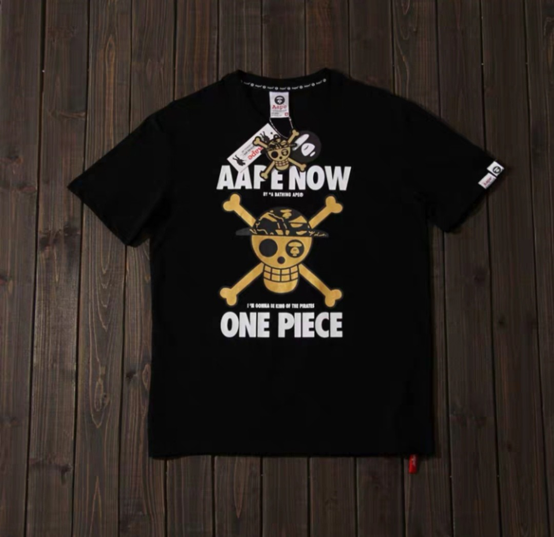 6a360381 BAPE One Piece Tee(265), Men's Fashion, Clothes, Tops on Carousell