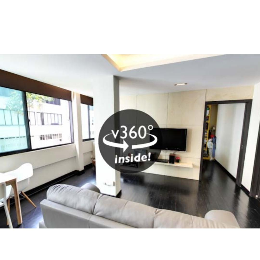 Blk 42 Kim Cheng Street Renovated and Nostalgic 3S For Sale!