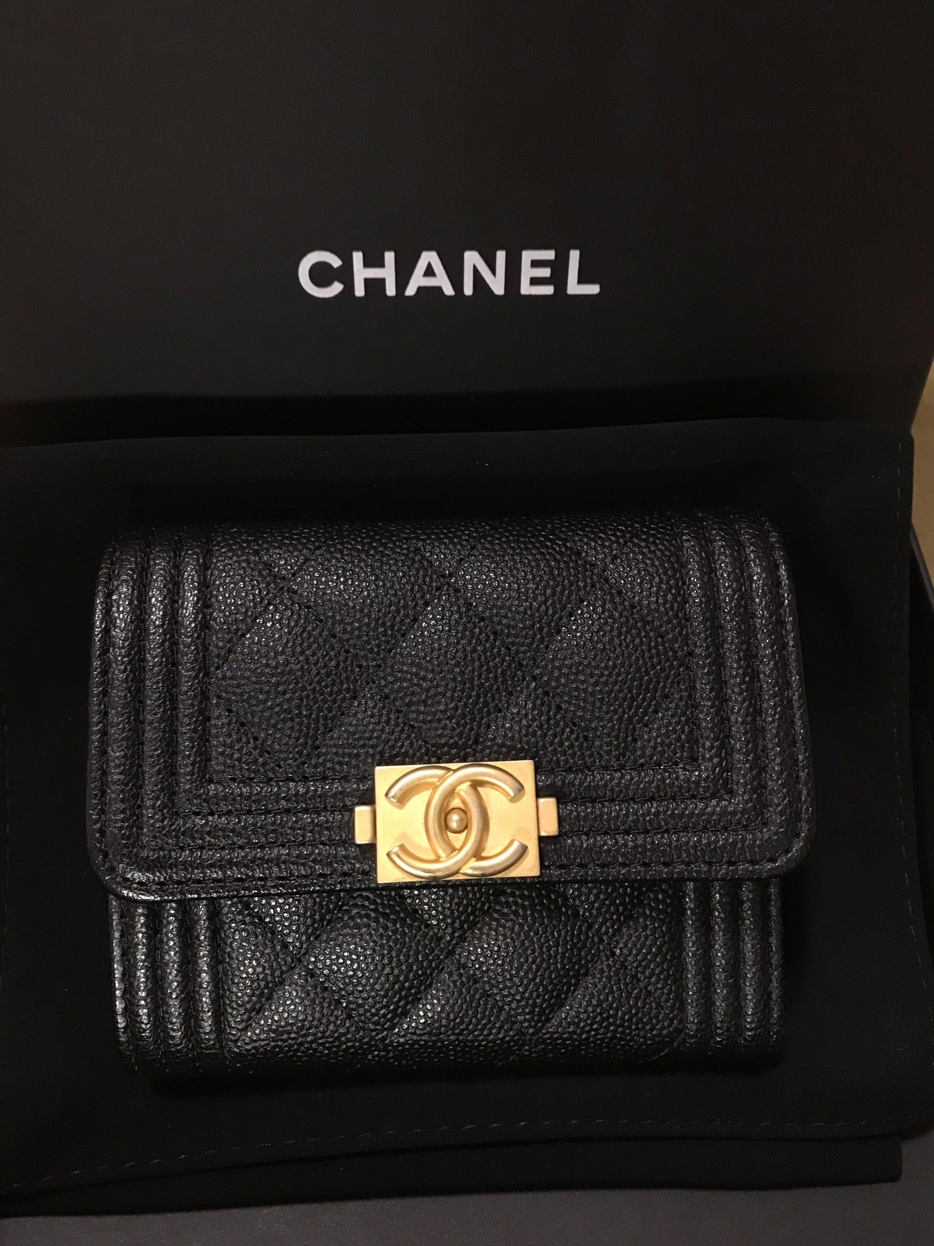 64884359cf Boy Chanel Small Flap Wallet, Women's Fashion, Bags & Wallets ...