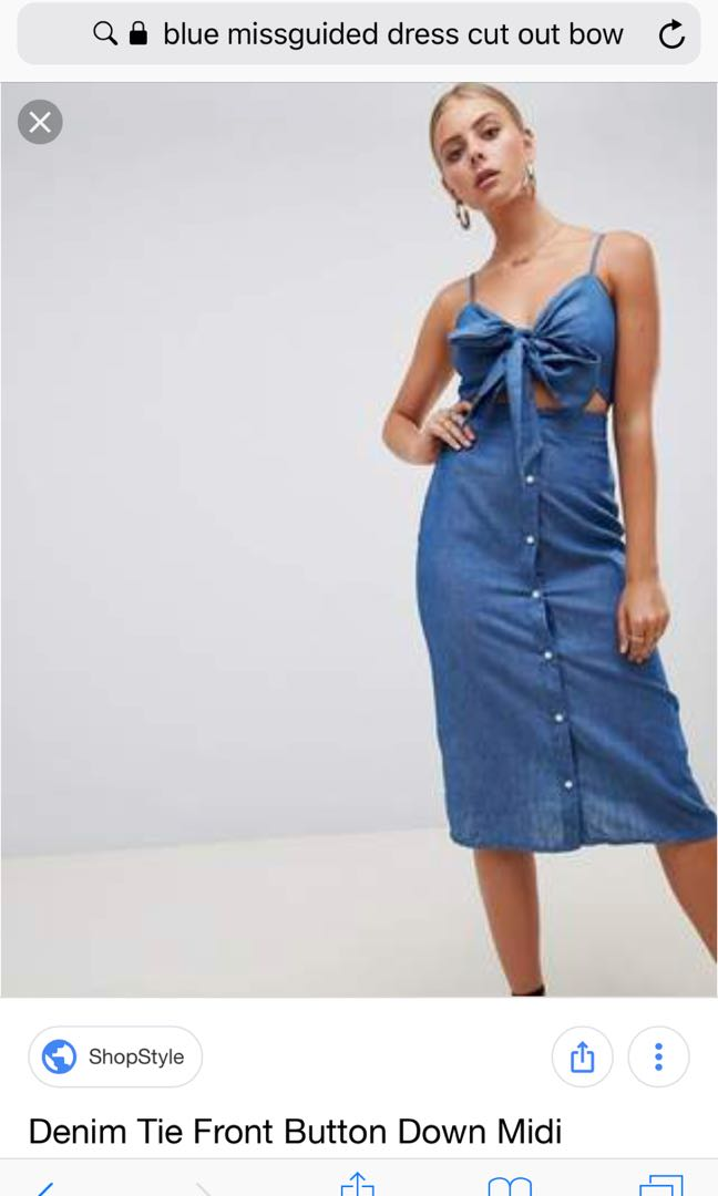 6812323428 BRAND NEW WITH TAGS: MISSGUIDED UK6 DRESS, Women's Fashion, Clothes ...