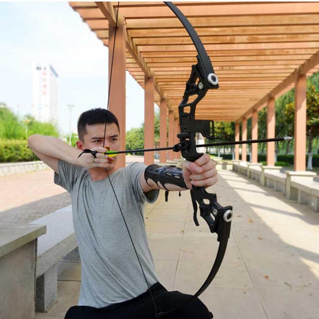 Busur Panah Hunting Archery Bow 30-45 LBS - SA TItanGadget