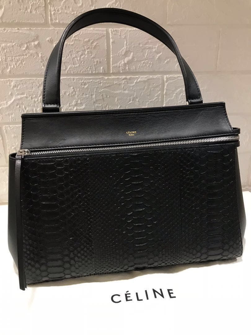 f9454bce31 Celine Python Edge Bag (Medium)