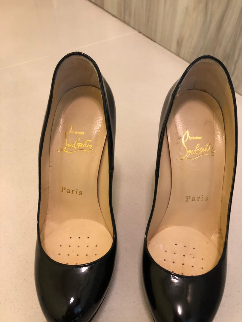 separation shoes 42774 77a67 Christian Louboutin platform crystal heels