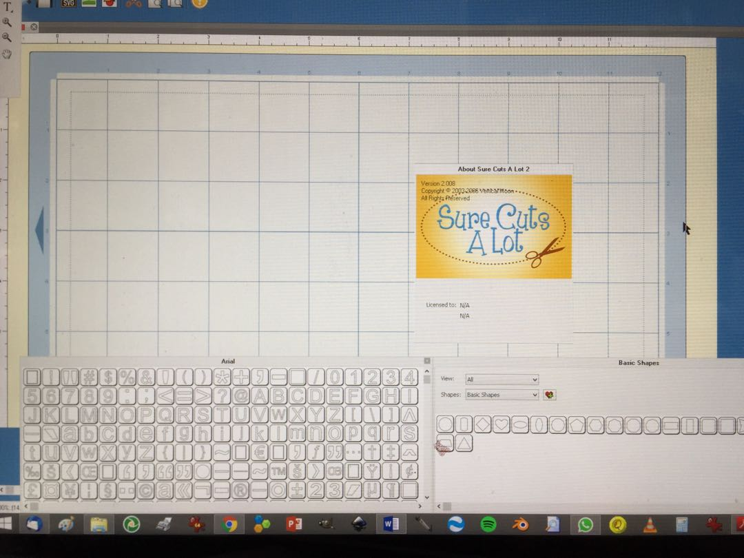Cricut expression with sure cuts a lot