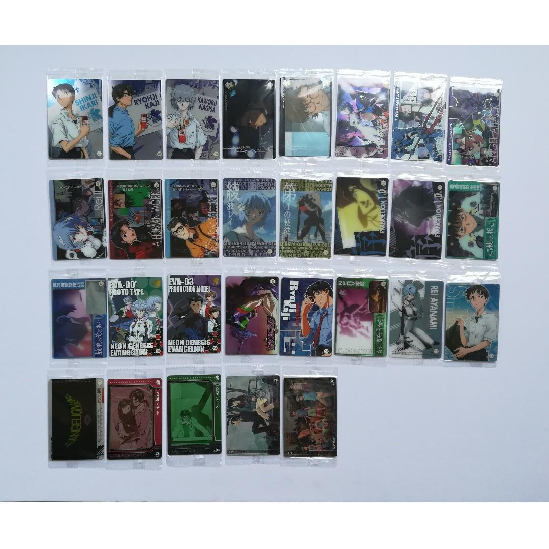 Evangelion - Character Card / Wafer Card / Photo Card