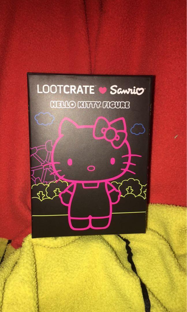 Exclusive Sanrio lootcrate hello kitty figure