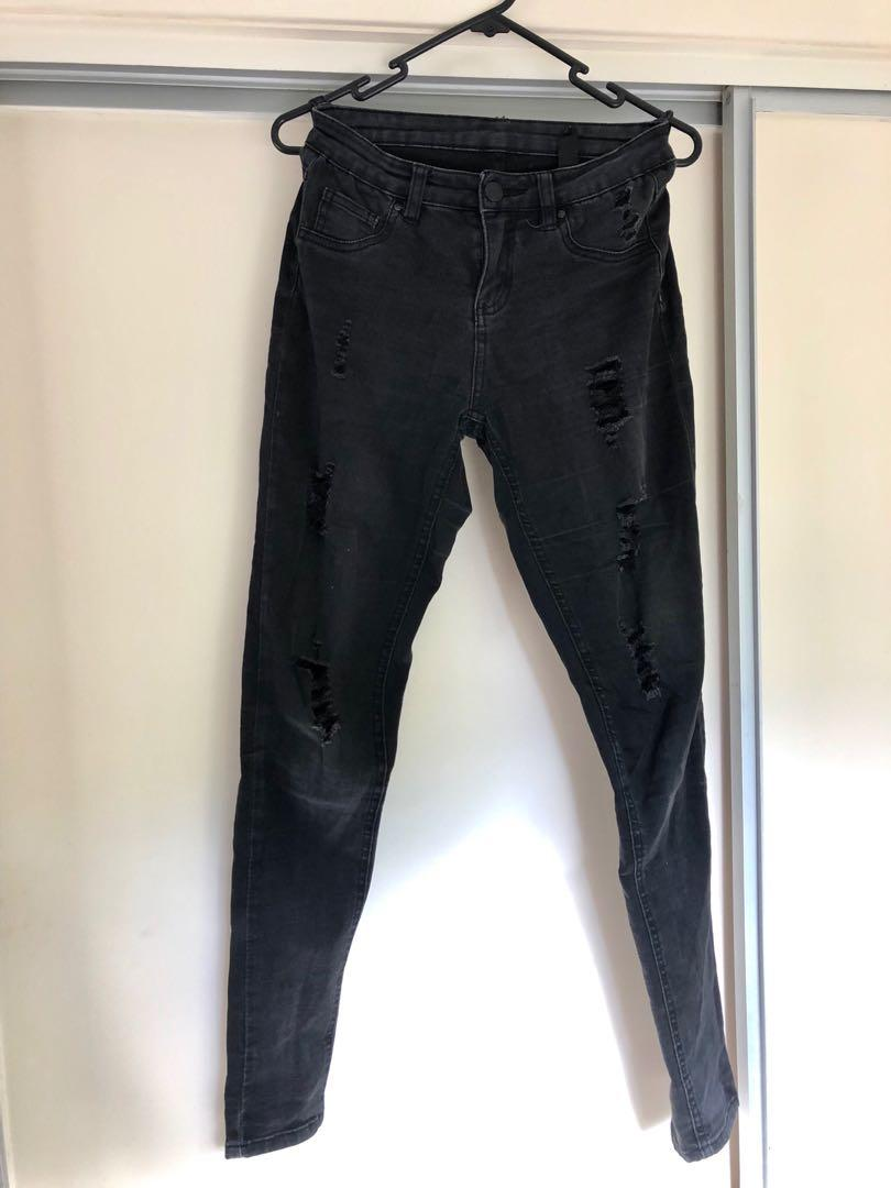 Factorie distressed jeans