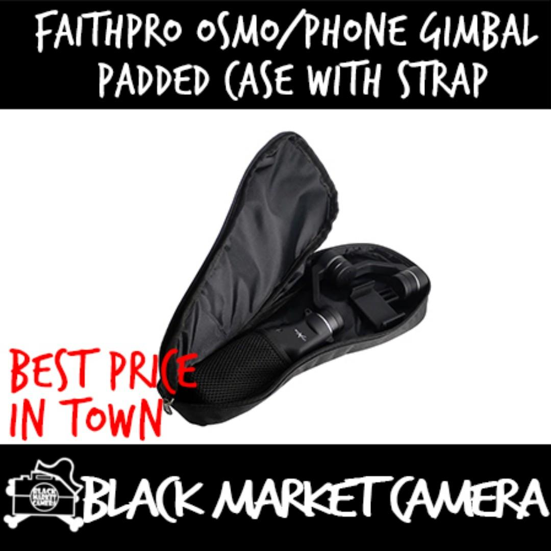 FaithPro OSMO/Phone Gimbal Padded Case with Strap
