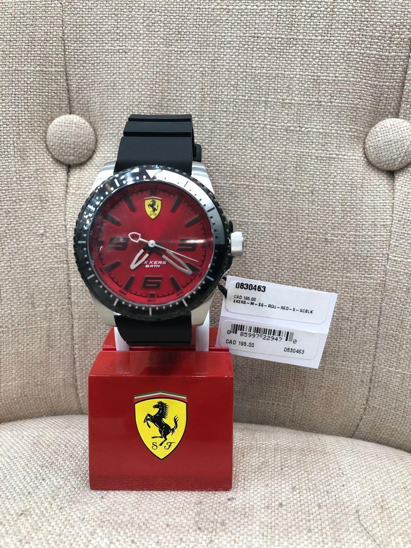 Ferrari Men's Xx Kers 46mm Black