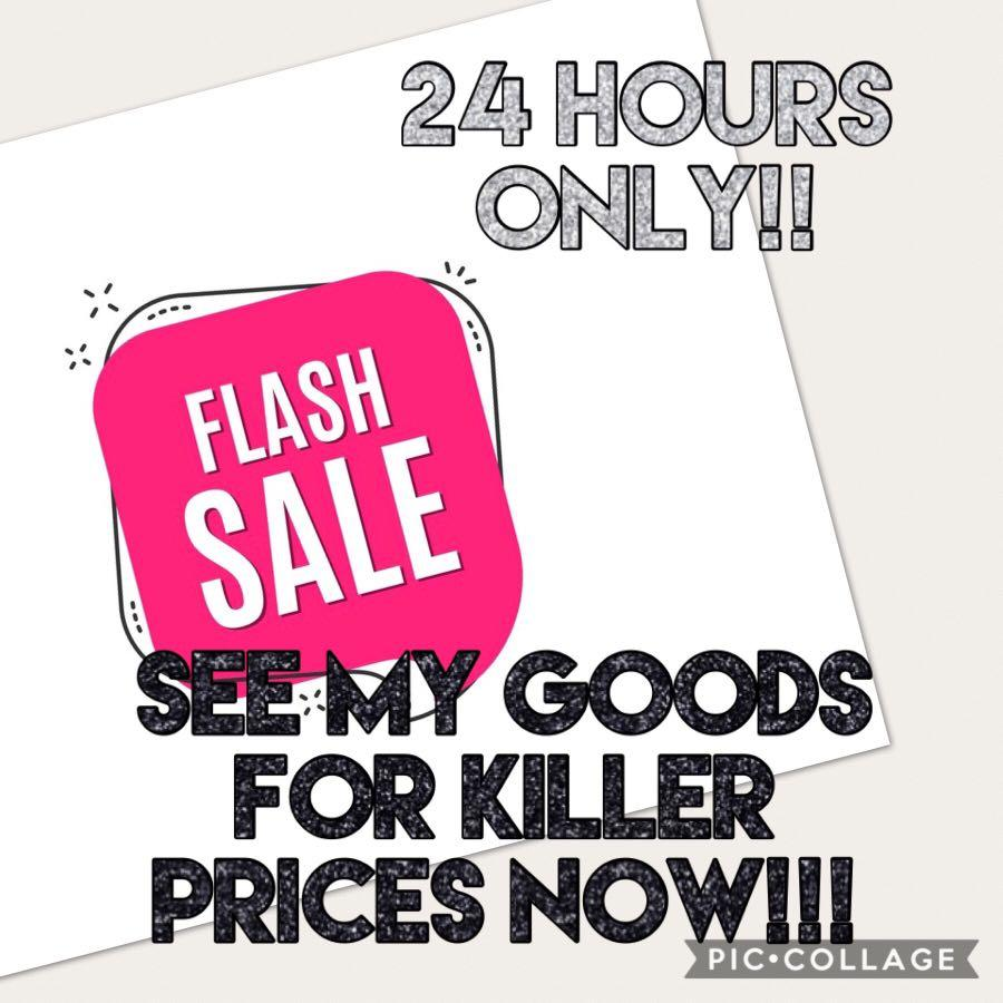 FLASH SALE!!! Must meet up in 24 hours!!!