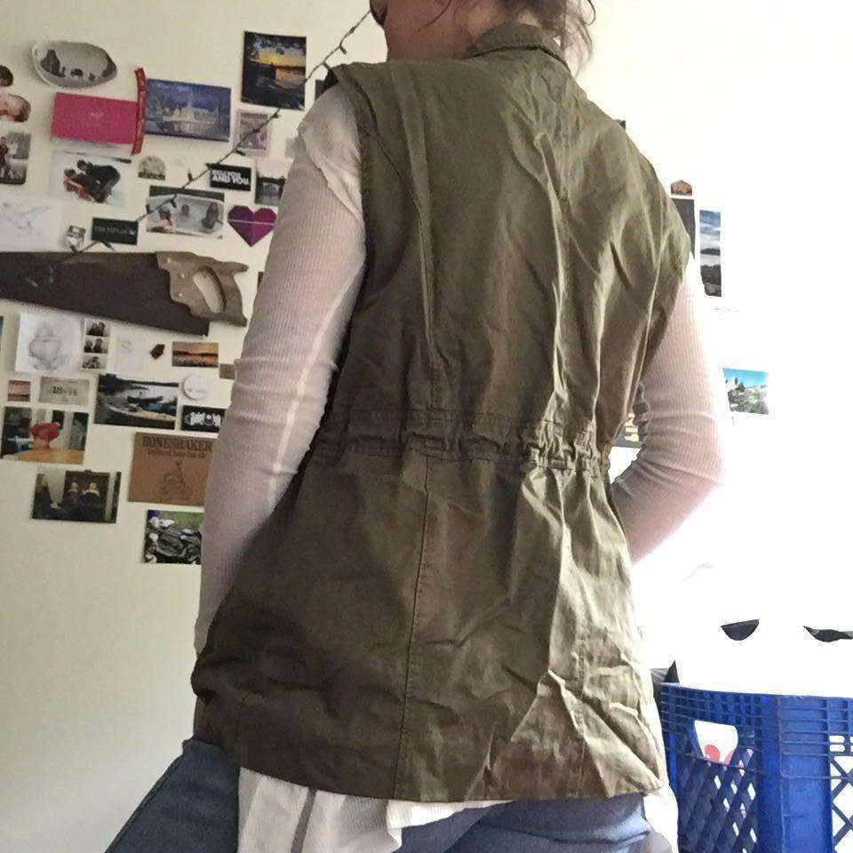 Forever 21 cargo vest