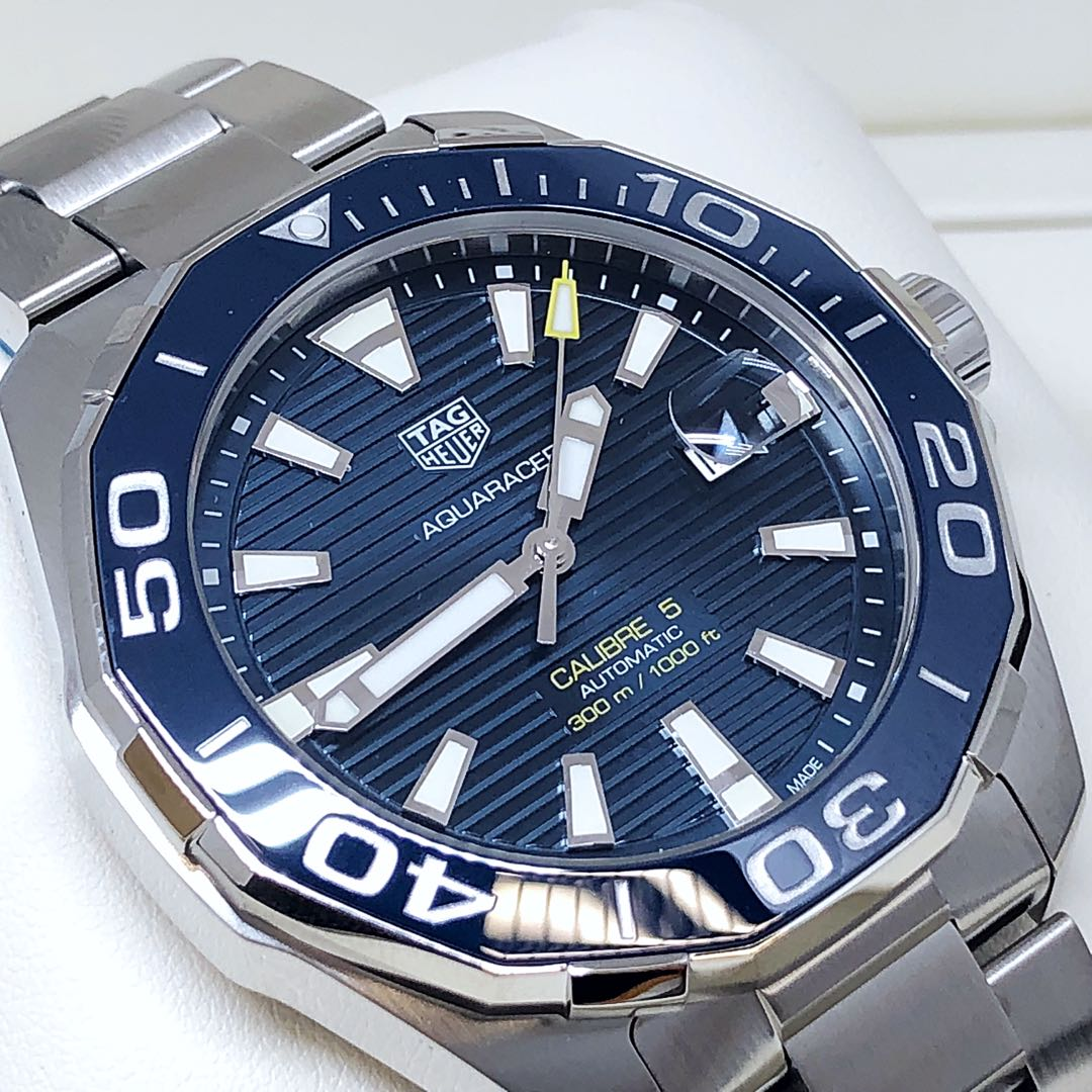 FS.BNIB TAG HEUER AQUARACER CALIBRE 5 AUTOMATIC 43MM 300M