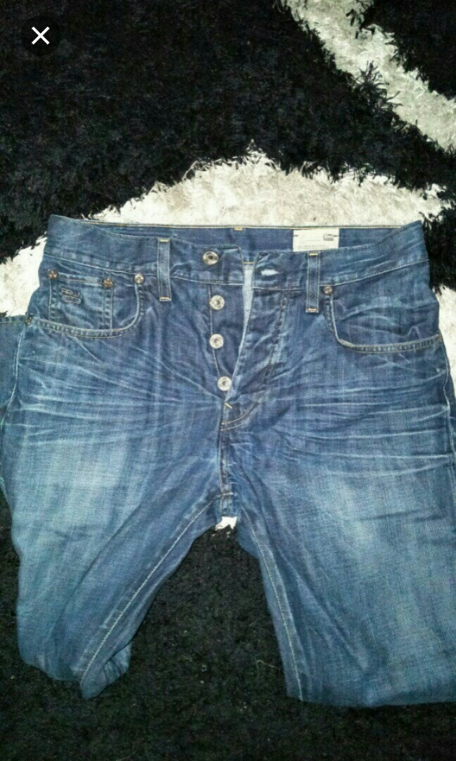 c33bb4d4081 G star 3301 jeans, Men's Fashion, Clothes, Bottoms on Carousell