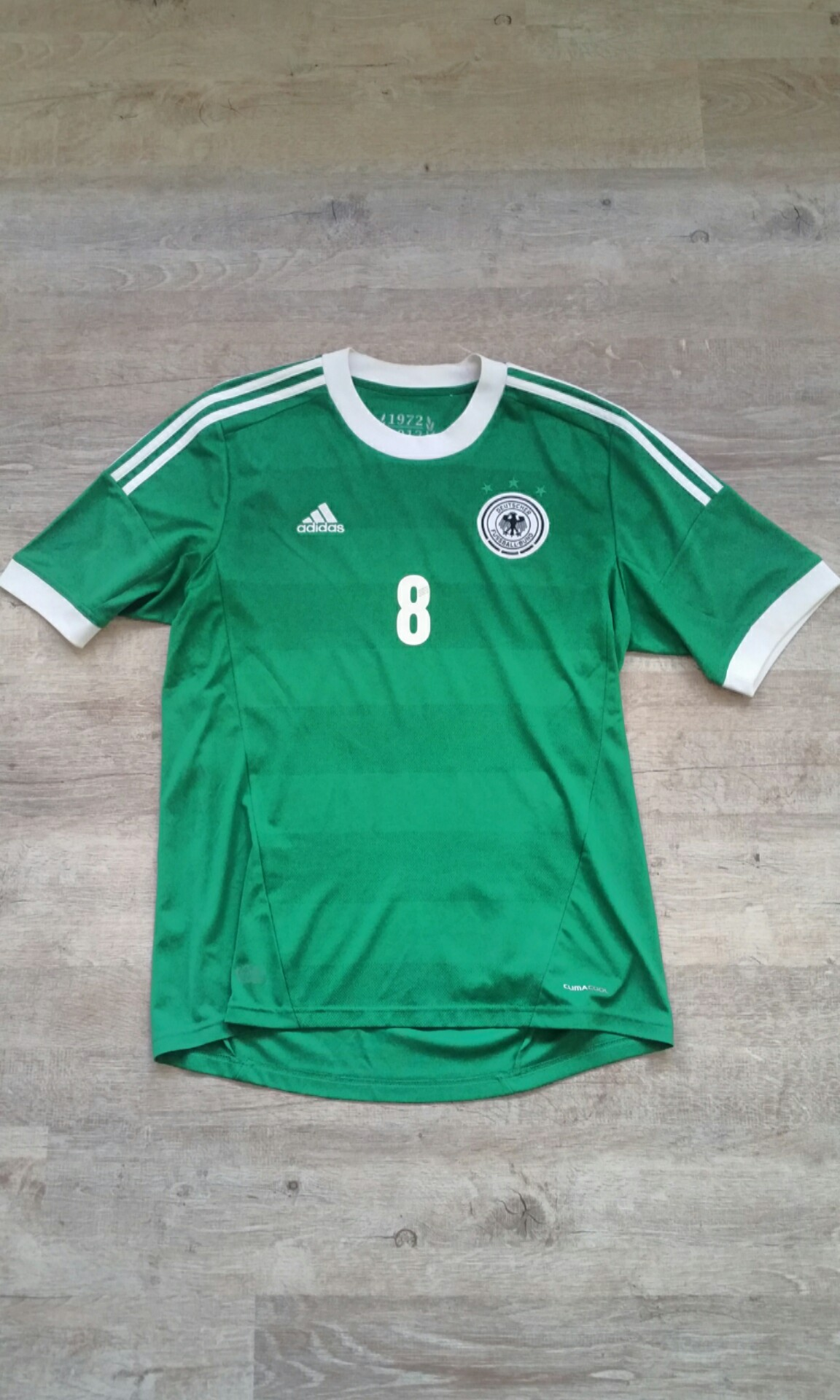 f1834edda7b GERMANY MESUT OZIL RETRO ADIDAS JERSEY AUTHENTIC NO.8