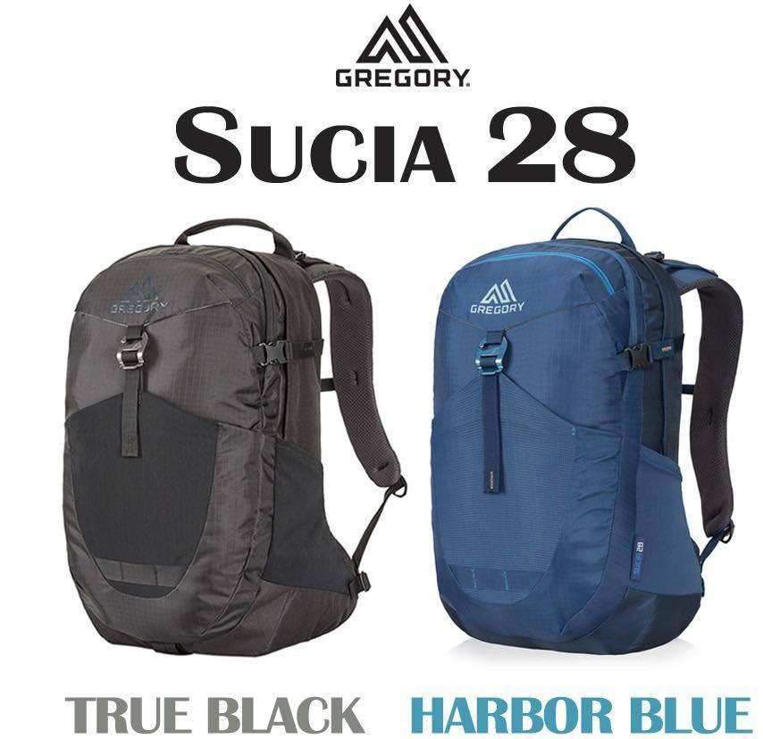 Gregory Sucia 28L Backpack 黑色 / 深藍色