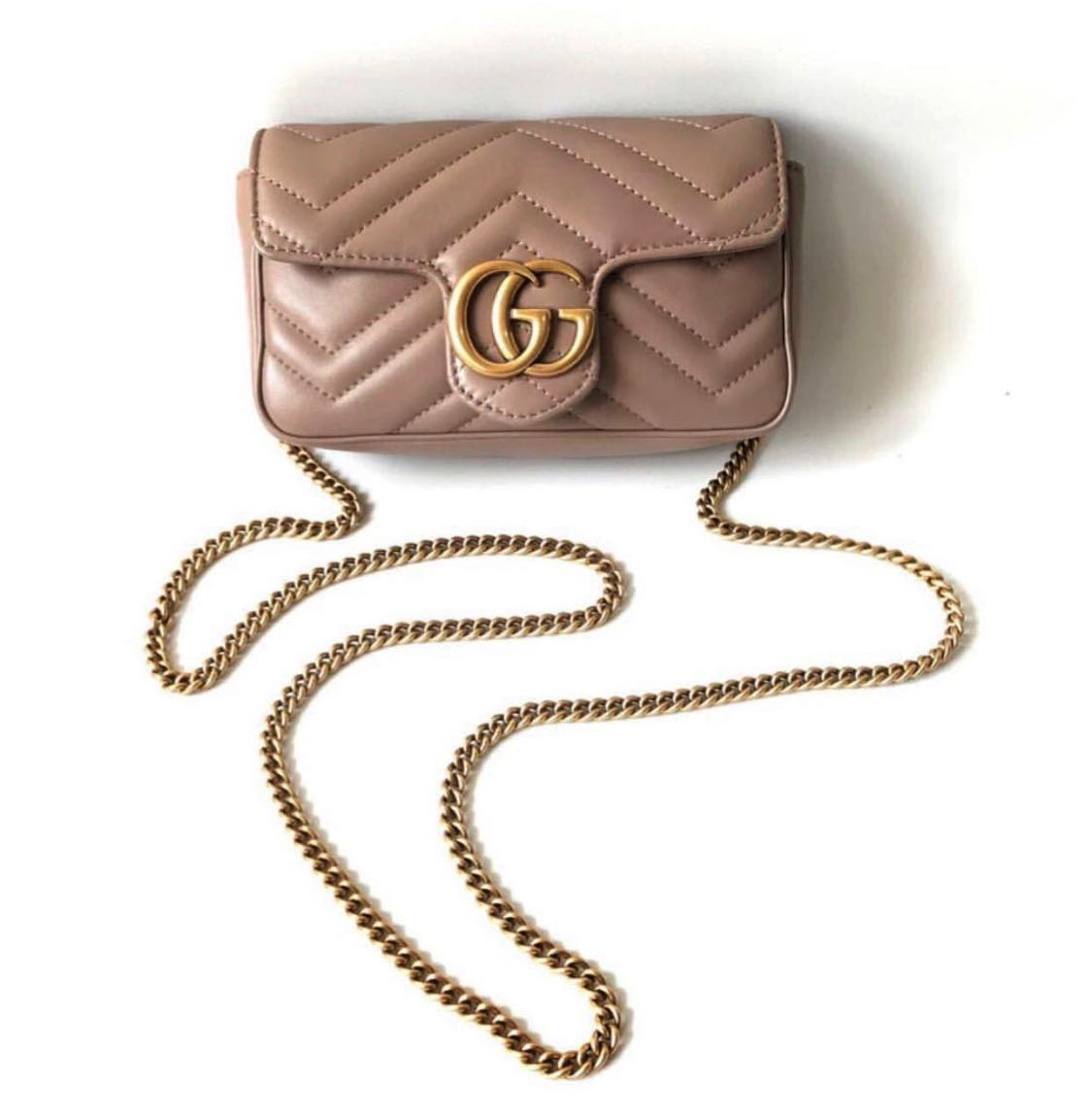 cccd54e07537 Gucci marmont [SALE], Luxury, Bags & Wallets, Handbags on Carousell