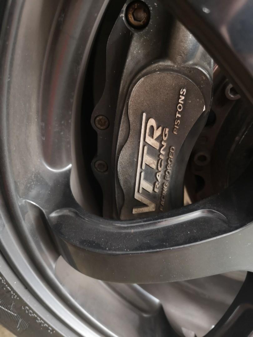 Honda stream Vttr bbk 6pot brake kit