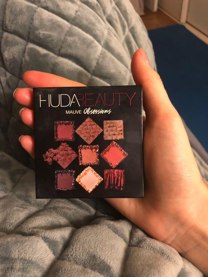 Huda Beauty Mauve Obsessions Palette used twice!