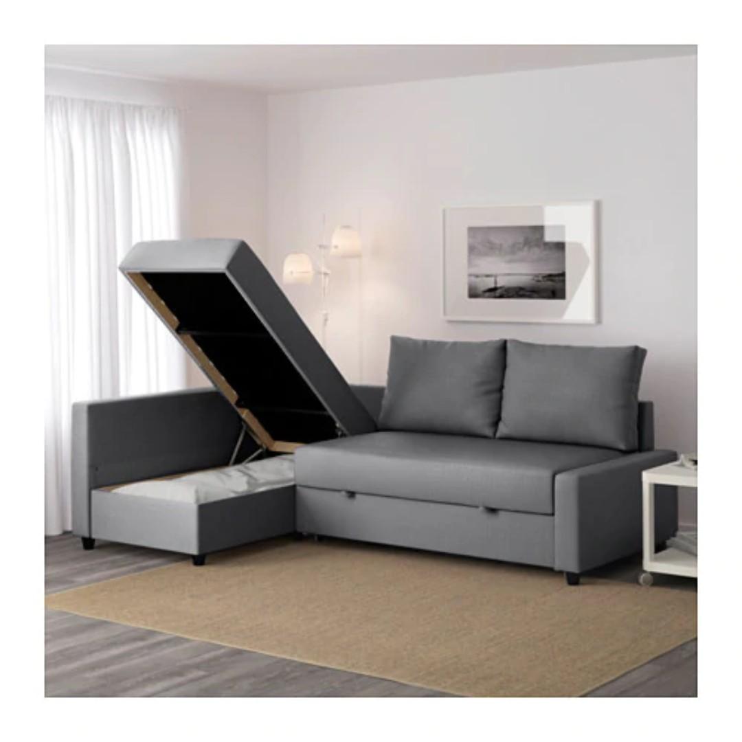 Ikea Friheten Corner Sofa Bed Furniture Sofas On Carousell