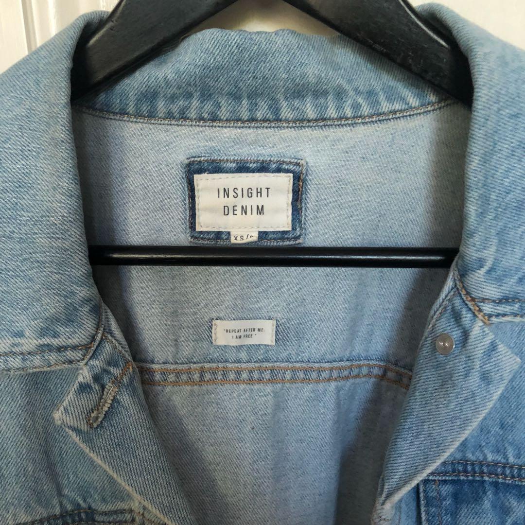 Insight Denim Jacket Oversized