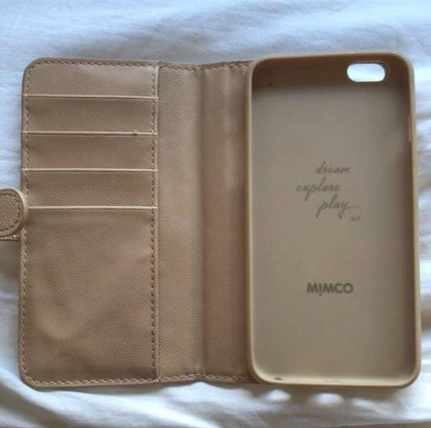 IPHONE 6 Authentic mimco phone case/ with dust bag