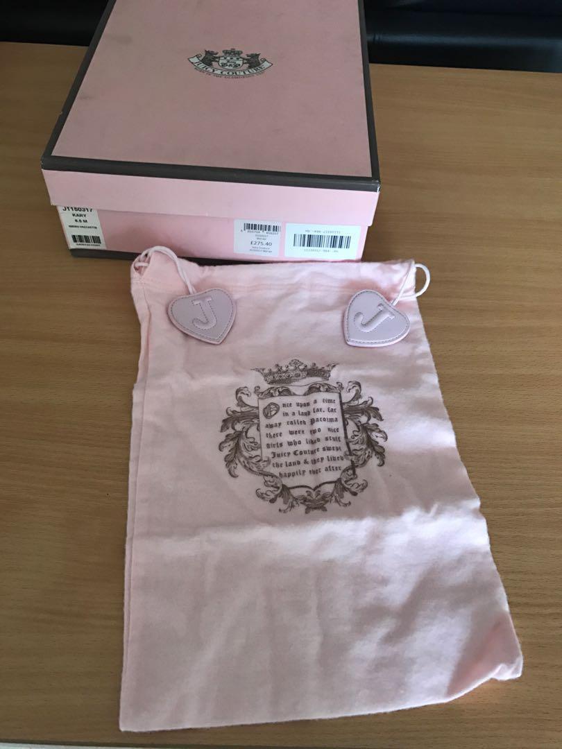 Juicy Couture KARY Designer Sandal Wedges Size 6.5 M