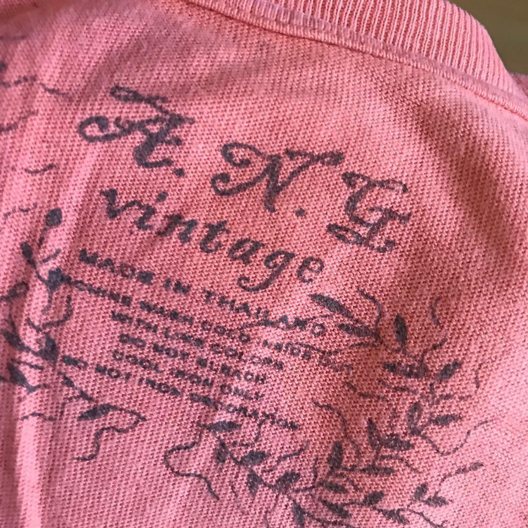Kaos Orange Oren Vintage Tshirt