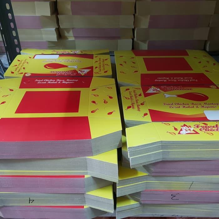 Kotak Nasi Fried Chicken Isi 100 Pcs