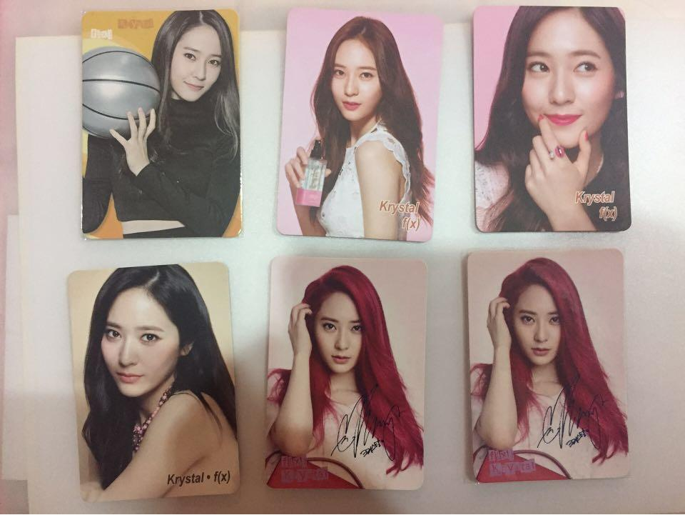 Krystal&FX Photocard(Yescard-Yes Official Frm Hongkong)