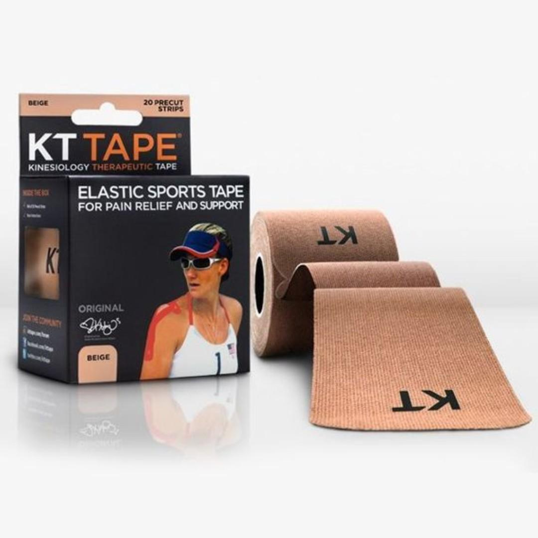 KT TAPE Elastic Sports Tape For Pain Relief And Support - Beige