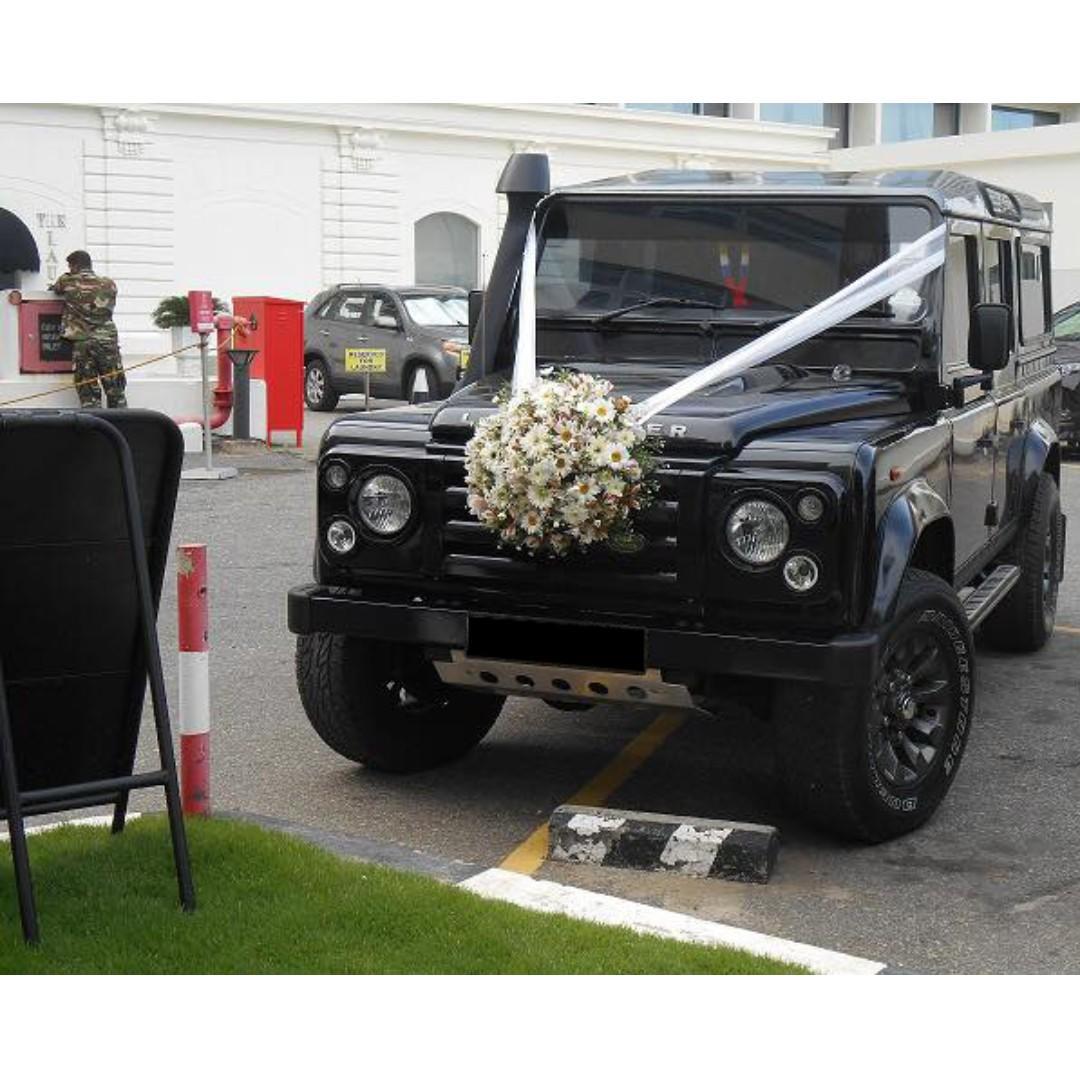Land Rover Defender Wedding/Bridal Rental