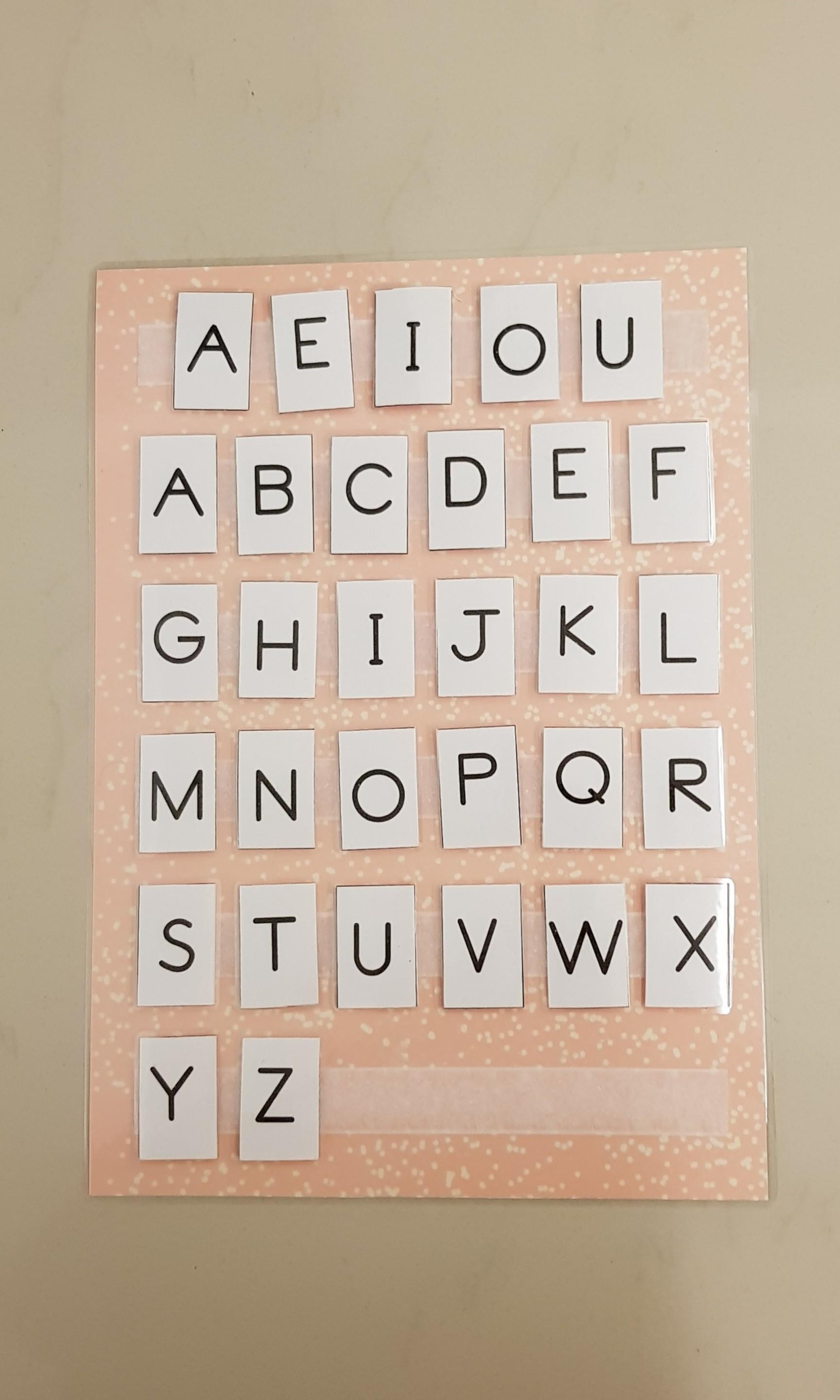 Learning Alphabet Diy Abc Chart Babies Kids Toys Walkers On Carousell These abc charts have been designed with popular themes to help convey phonics sound for the 26 letters of the alphabet. sgd