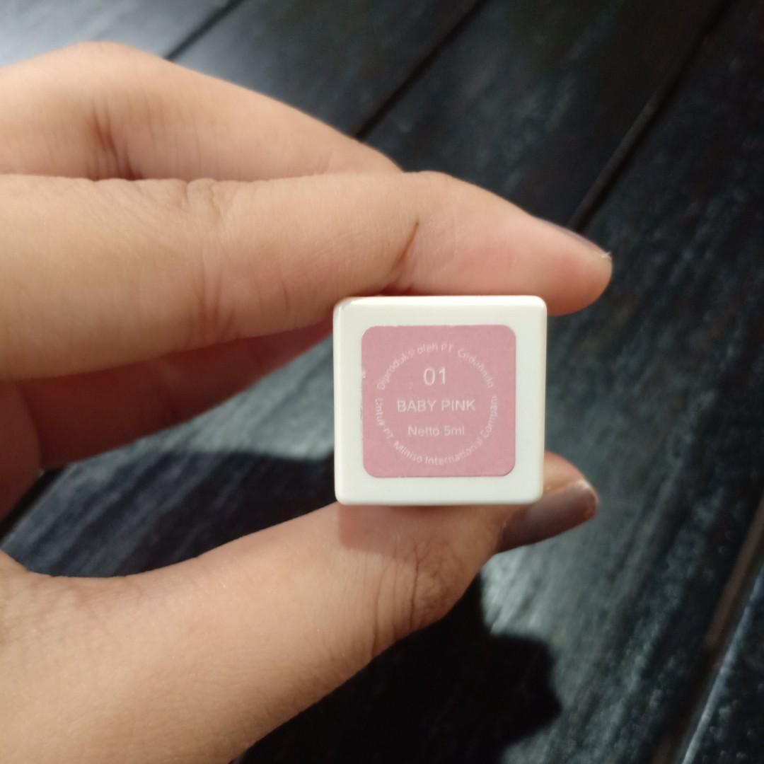 Lip gloss Miniso shade 01