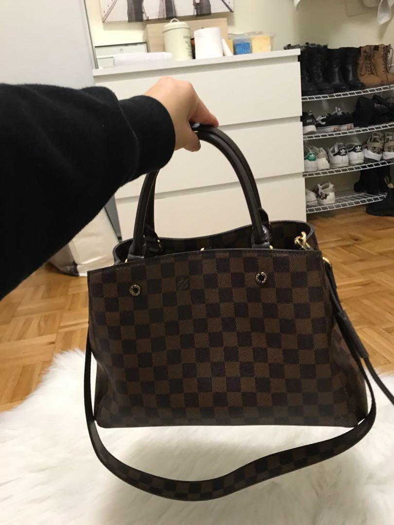 LV handbag w/ strap
