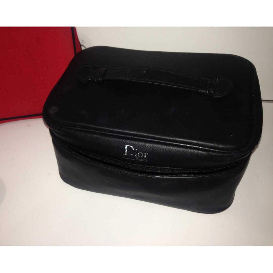 NEGOTIABLE - MAKE UP BAGS/PENCIL CASES - DIOR, ISPY, NO NAME