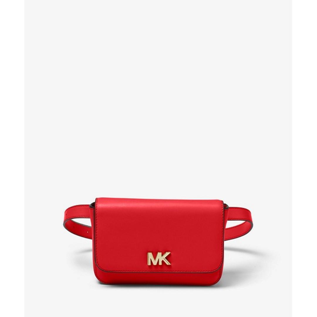 c4ae60529bed34 Michael Kors Mott Leather Belt Bag, Women's Fashion, Bags & Wallets ...