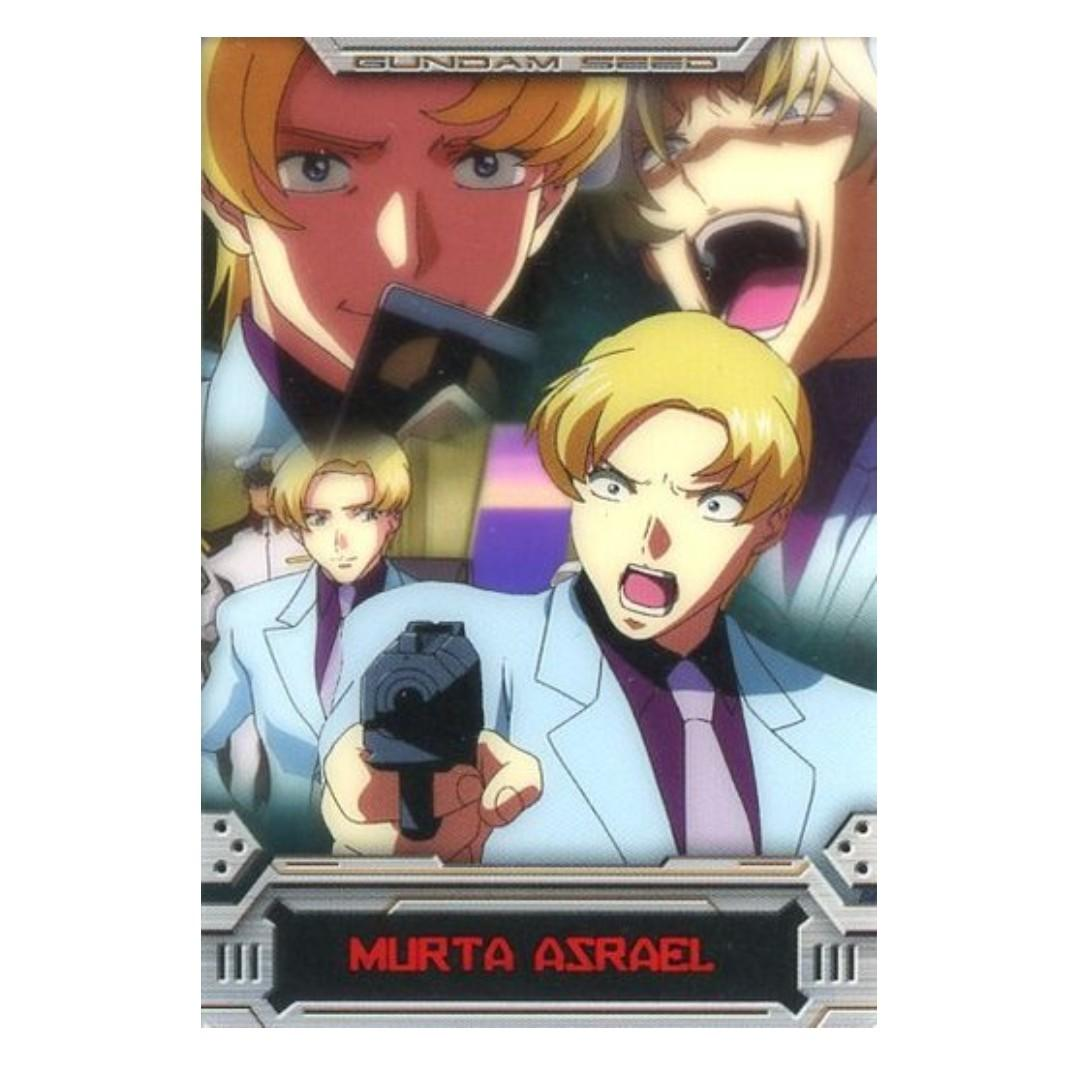 Mobile Suit Gundam SEED - Murta Azrael -  Wafer Card / Character Card