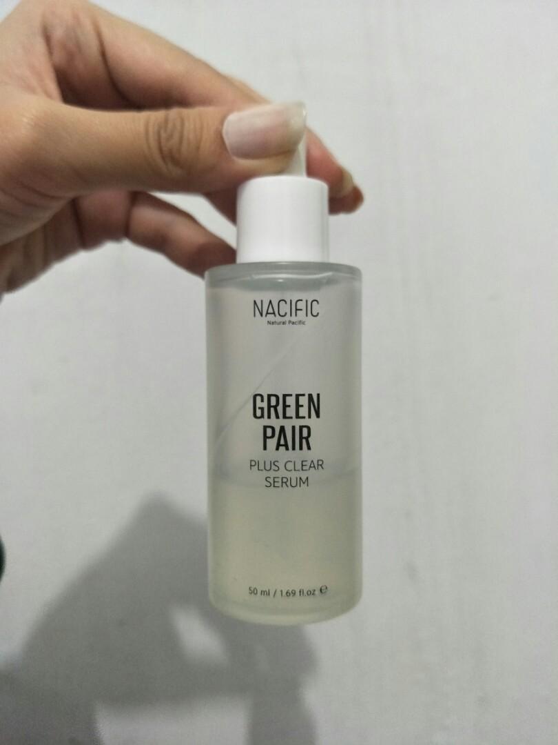 Nacific Green Pair Plus Clear Serum