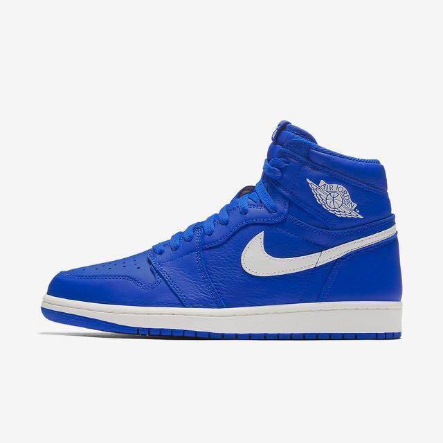 hot sale online df6cf 2b50a Nike Air Jordan 1 Hyper Royal US11, Men s Fashion, Footwear ...