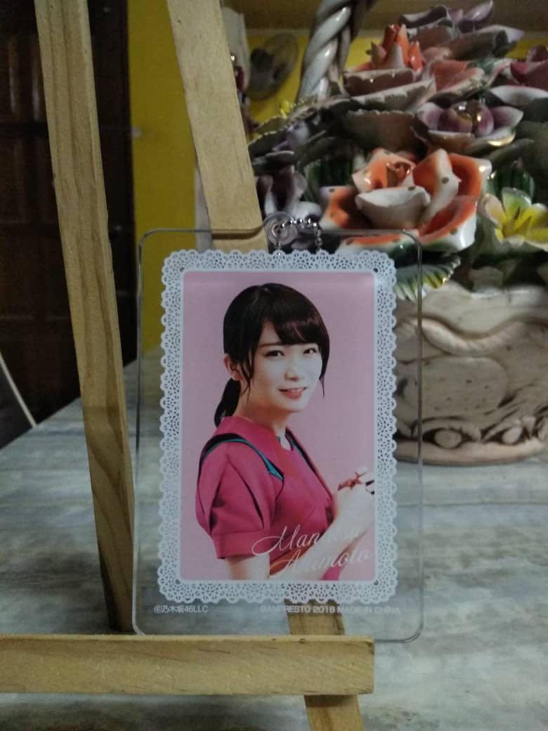 Nogizaka46xBanpresto 2018 Keychain-Manatsu Akimoto