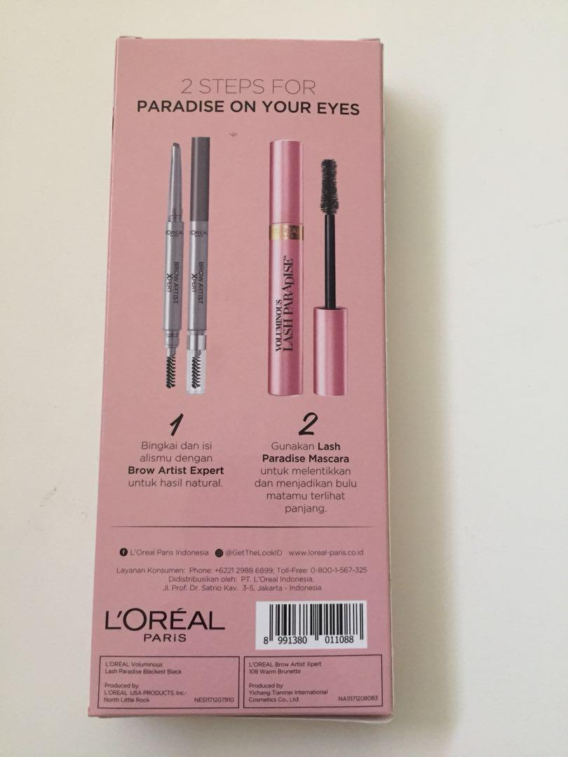 Paradise eyes Kit (mascara & pensil alis)